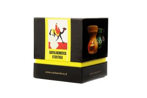 Ceramic Burner with Aromatic Essence of Eritrea and Tealight - Box - Carta Aromatica d'Eritrea®