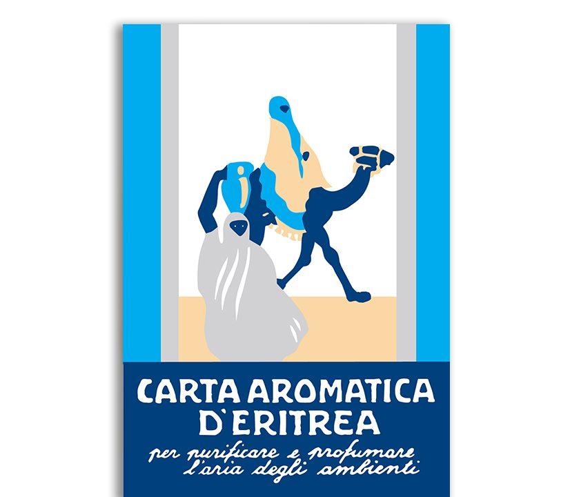 Papier Aromatique d'Erythrée Bleu – 24 bandes - Carta Aromatica d'Eritrea® Blu - Essence du Touareg