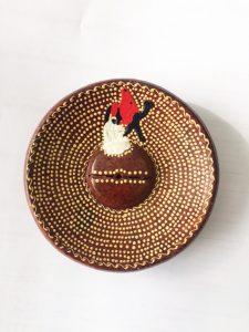 Brûleur Peint à la Main - Carta Aromatica d'Eritrea®