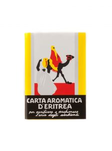 Carta-Aromatica-d'Eritrea-Aromatic-Paper-24-stripes-booklet