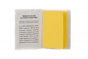 Carta-Aromatica-d'Eritrea-Aromatic-Paper-24-stripes-booklet-inside