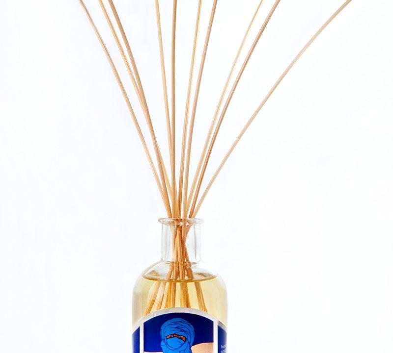 Reed Fragrance Diffuser Blue Aromatic Essence of Eritrea 100ml – Carta Aromatica d'Eritrea® Blu - Essence du Touareg